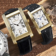 His Or Hers Rectangular Watch By Croton