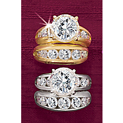 Round Channel Bridal Set y