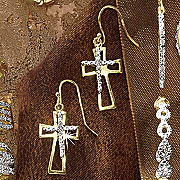 Cross Wire Earrings