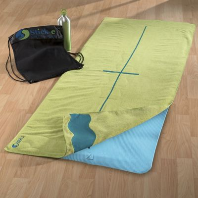 Deluxe Yoga Towel With Backpack By Stick e