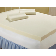 4 Memory Foam Topper With Pillows