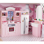 3 in 1 Dollhouse Furniture Sets