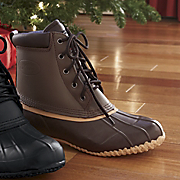 Mens Winter 5 eye Duck Boot
