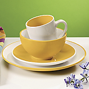 16 pc Milano Colorburst Dinnerware Set