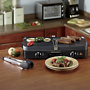 3 in 1 Grill griddle combo By Hamilton Beach
