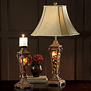 3 way Table Lamp And Candleholder