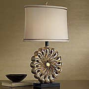 Flower Base Table Lamp