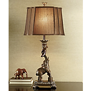 sensitive jungle giant elephant lamp