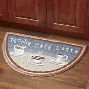 java time slice rug
