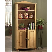 Natural Finish Pine Cabinet