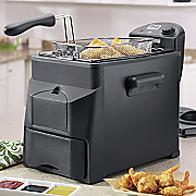 Chef Tested 4 qt Easy Drain Fryer By Montgomery Ward