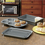 4 pc Nonstick Toaster Oven Set By Chicago Metallic