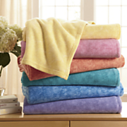 Comfort Creek Fiesta Plush Blankets By Montgomery Ward