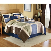 Matrix Bedding Set Valance And Panel Pair