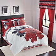 Melinda Bed Set Pillow Valance And Panel Pair