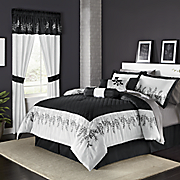 Gabriel Bed Set Valance And Panel Pair
