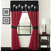 Kiku Blossom Valance And Panel Pair
