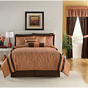 Summerset Bed Set Valance And Panel Pair