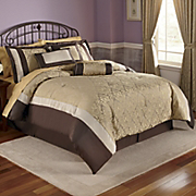 Sabrina 21 pc Jacquard Bed Set