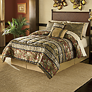 serengeti jacquard bed set and window treatments