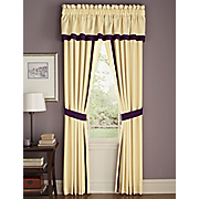 serafina valance and panel pair