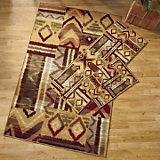 Southwest 3 pc Rug Set