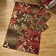 Pussy Willow 3 pc Rug Set