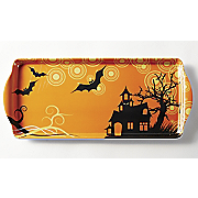 Set Of 2 Halloween Trays