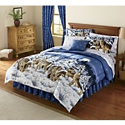 Wildlife Bed Set And Window Treatments
