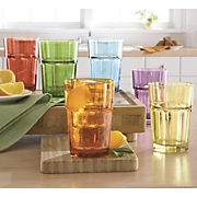 Set Of 6 Assorted Hi ball Glasses