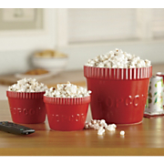 Set Of 3 Ceramic Popcorn Bowls