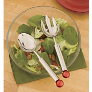 2 pc Jingle Bells Salad Serving Set