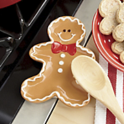 Gingerbread Man Spoon Rest