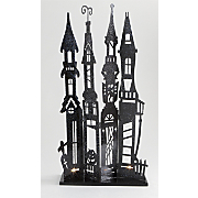 Haunted House Tabletop Tealight Holder