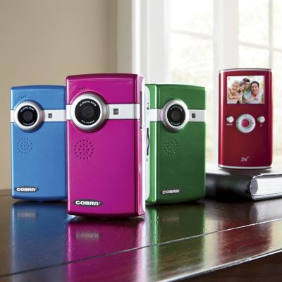 Colorful Video Camera By Cobra Digital