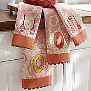 4 pc Towel Set   Baking
