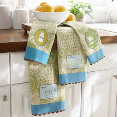 4 pc Towel Set   Breakfast