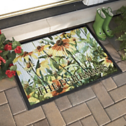Weatherguard Personalized Flower Mat