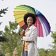 24 color Rainbow Umbrella