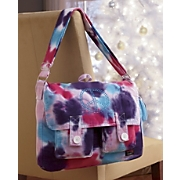 Tie dye Peace Messenger Bag