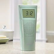 Bathroom Clock Radio By Rca