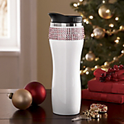 Rhinestone Travel Mug