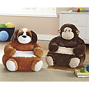 Plush Animal Chair