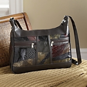 Metallic Patch Handbag
