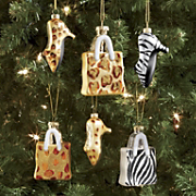 Set Of 3 High Heel Ornaments