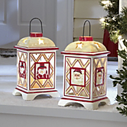 Ceramic Holiday Lantern