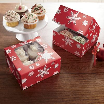 Set Of 2 Cupcake Boxes