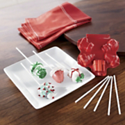 Holiday Cake Pop Press And 100 Sticks