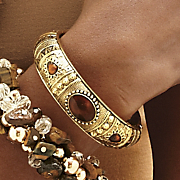 Moroccan Hinged Bangle