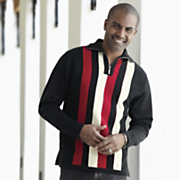 Stacy Adams Contemporary Stripe Sweater